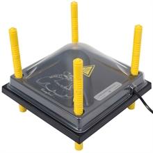 Afdekplaat voor verwarmingsplaat, warmteplaat voor kuikens 25x25cm