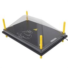 Afdekplaat voor verwarmingsplaat, warmteplaat voor kuikens 40x60cm
