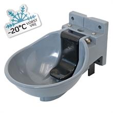 Lister verwarmbare grijze kunststof drinkbak SB 2 H 230V bescherming tot -20°C