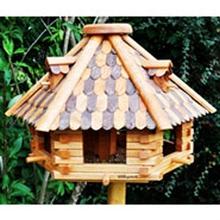 Vogelvoederhuis VOSS.garden Wintertraum, houten voederstation voor tuinvogels