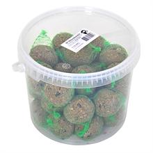 30 stuks VOSS.garden mezenbollen, vetbollen 90gram voor tuinvogels in emmer
