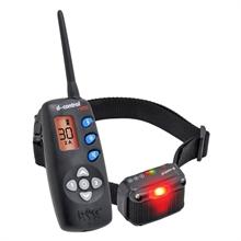 DogTrace D-Control 1020, teletac elektronische trainingshalsband met display, toonsignaal en signaal LED voor honden vanaf 4kg 1000mtr afstandstrainer