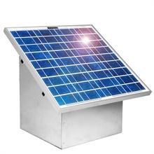 VOSS.farming 30W Zonne-energie systeem Solarsysteem, incl. Kast en toebehoren