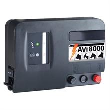 VOSS.farming AVI 8000, 12V accu 5,0 joule / 9.700 volt schrikdraadapparaat met digitale omheiningtester