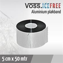 1x Aluminum plakband 50mtr voor vorstbeschermingskabel