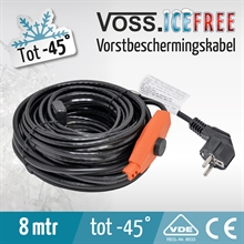 8 mtr VOSS.ICEFREE warmtelint, verwarmingslint, vorstbeschermingskabel