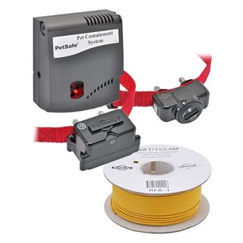 """Sparset: PetSafe """"Radio Fence (PRF-3004W)"""" Unsichtbarer Hundezaun + extra Empfänger + 152 m Antennenkabel B-100"""