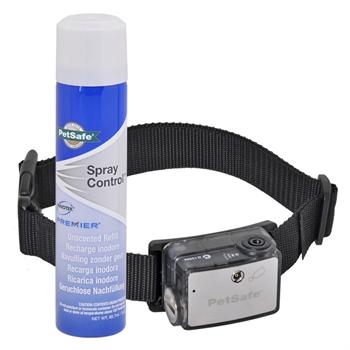 PetSafe antiblaf Deluxe spray halsband, anti blafband met citroenspray correctie