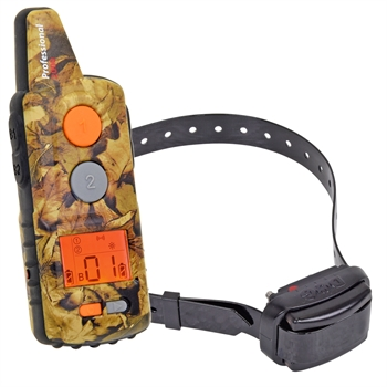 "Dogtrace ""D-Control professional 2000 mini"" 2000 meter trainingshalsband met toon, trillings, impuls en LED correctie."