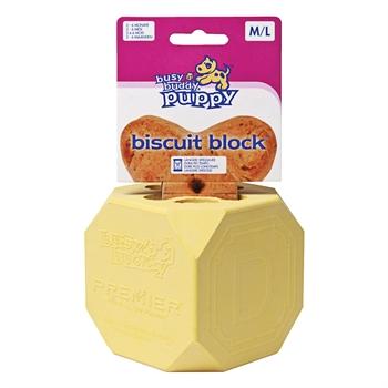 Busy Buddy Puppy Biscuit Block - M/L für größere Welpen 2-6 Monate