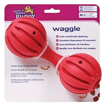 Busy Buddy Puppy Waggle - Medium für große Welpen von 2 - 6 Monaten