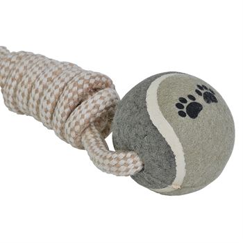 Schlinge + Ball Werf- + Zerrspielzeug für Hunde