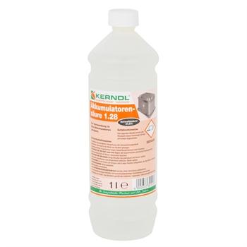 Accu zuur 1 liter voor 12V accu