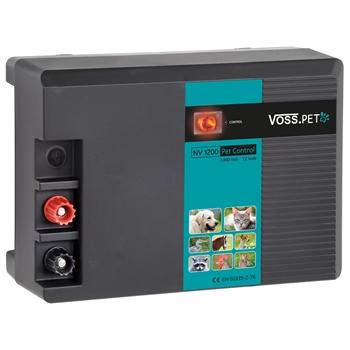 "VOSS.pet ""AV 1000 PET control"" 12V 1,1 joule accu schrikdraadapparaat"