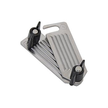 Lintverbinder set compleet, RVS verbindingsset, aansluitset voor lint tot 40mm.