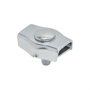 5x koordverbinder verzinkt, enkele verzinkte verbinder voor koord tot 6mm 5 stuks verpakking