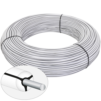 VOSS.farming Mustangwire, Horsewire, Equiwire, permanentkabel 200 meter wit
