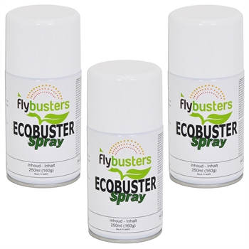 3x Flybusters Ecobuster navulling 250ml