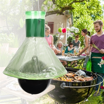 VOSS.garden multiTrap, mobiele dazenval, wespenval, effectief en duurzaam