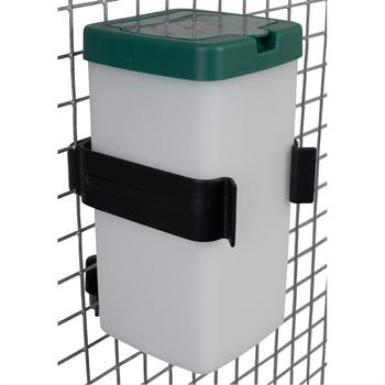 Ophangbeugel kunststof voor gaaspanelen voor drinkfles