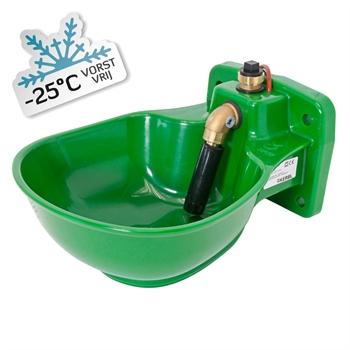 Kerbl verwarmbare kunststof drinkbak met staafventiel HP20, 24 V