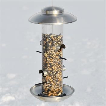 Vogelvoederhuis Smøllebird, exclusief Deens design voederstation voor vogels 17x36cm