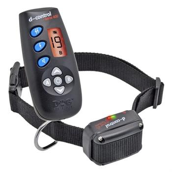 DogTrace D-Control 400, teletac elektronische trainingshalsband met display en boosterfunctie  voor honden vanaf 4kg  250mtr afstandstrainer
