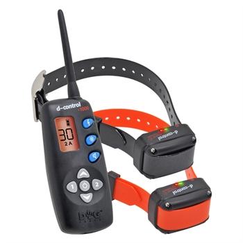 DogTrace D-Control 1002 voordeelset, teletac met 2 elektronische trainingshalsbanden
