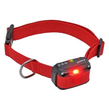 DogTrace teletac extra ontvanger halsband met vibratie, toonsignaal en signaal LED voor honden vanaf 4 kg