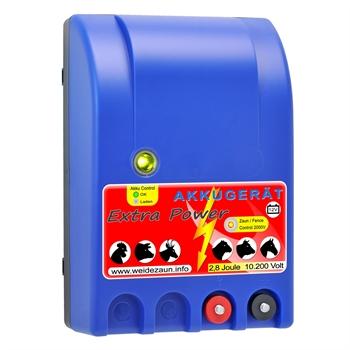 VOSS.farming extra power, 12V accu 2,8 joule / 10.200 volt schrikdraadapparaat