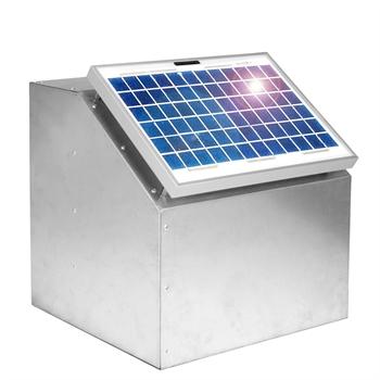 VOSS.farming 10W Zonne-energie systeem Solarsysteem, incl. kast en toebehoren