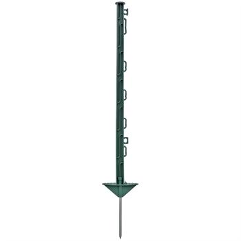 20x VOSS.farming 74cm groene mobiele prikpaal, afrasteringspaal van glasvezelversterkt kunststof