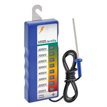 VOSS.farming omheiningstester, afrasteringstester, voor het testen van uw omheining van 1000V tot 8000V