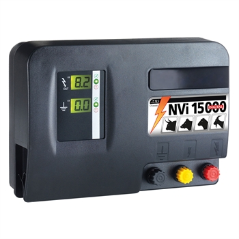 VOSS.farming NVi 15000, 230V netstroom 18,5 joule / 11500 volt impuls met digitaal display