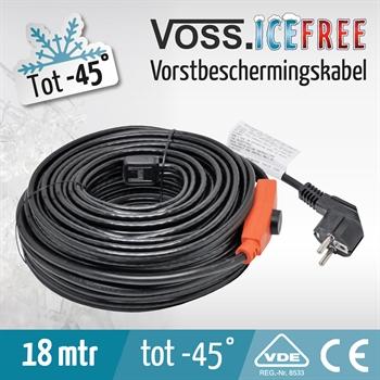 18 mtr VOSS.ICEFREE warmtelint, verwarmingslint, vorstbeschermingskabel