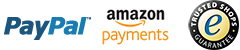 PayPal, Amazon Payments, Trusted Shops