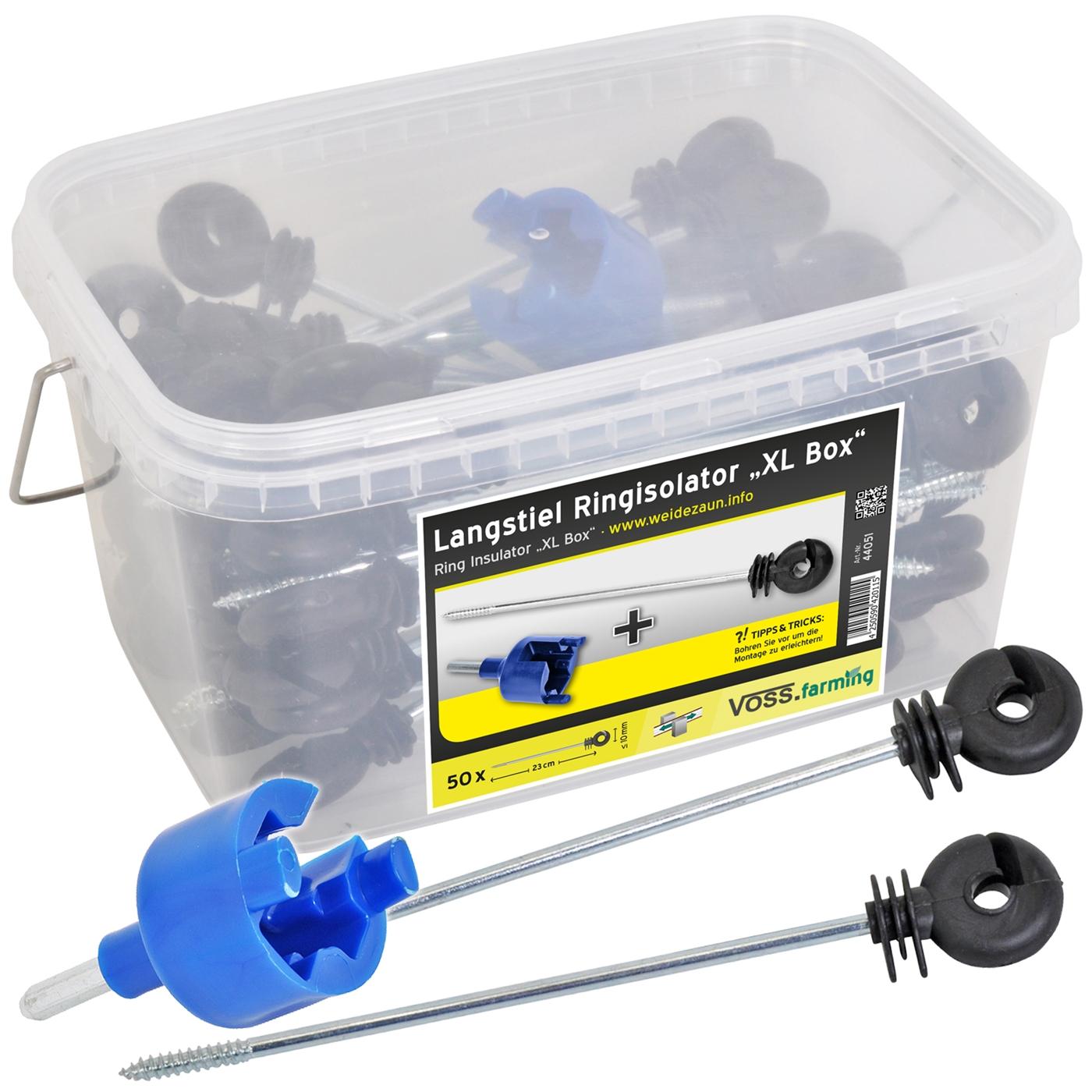 50x isolateur annulaire carteur corde cordon fil ruban - Ruban cloture electrique ...