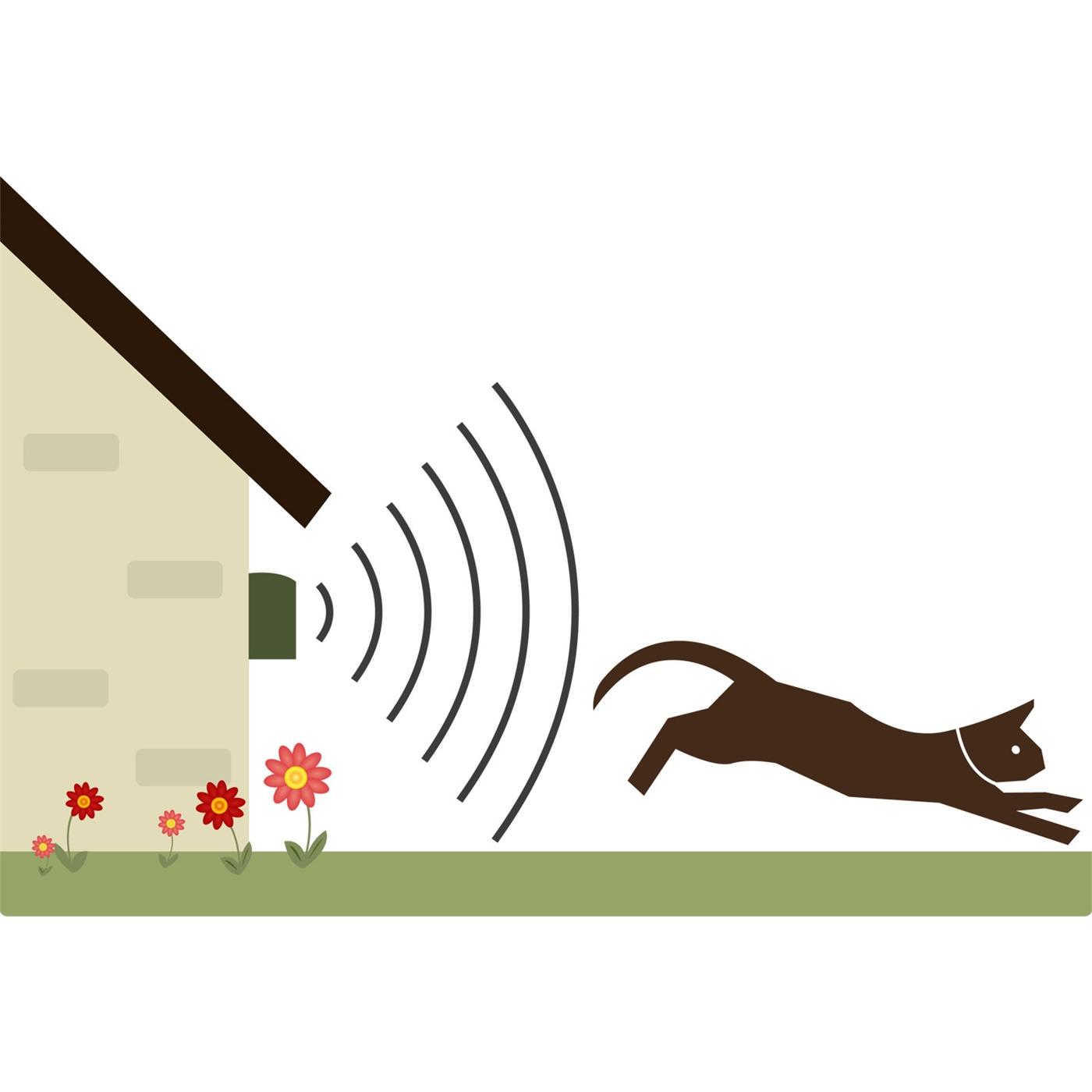 Katzenabwehr-Katzenvertreiber-Hundeabwehr-Katzenschreck-Marder-Tierschreck