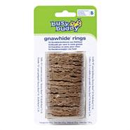 Busy Buddy Gnawhide Rings - Kauleder Ringe Größe B für Bouncy Bone M und Bristle Bone S,M