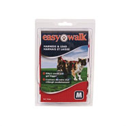 Easy Walk - Katzengeschirr mit Bungee-Leine, Medium, rot