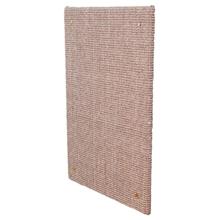 Katzen-Kratzbrett XXL für Wände, Sisalteppich, 50x70cm, taupe