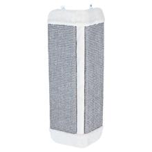 Katzen-Kratzbrett für Zimmerecken, Sisalteppich, 32x60cm, grau/lichtgrau