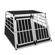 "B-Ware Hundebox ""Marley"" Transportbox groß (Doppeltür)"
