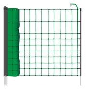 B-Ware 12m VOSS.miniPET Kleintier-Netz, 65cm, grüne Litze, 1 Spitze