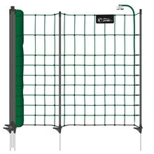 B-Ware VOSS.PET petNET+ 10 m Hundezaun, Kaninchenzaun, 65 cm, 10 Premium-Pfähle, 1 Spitze, grün