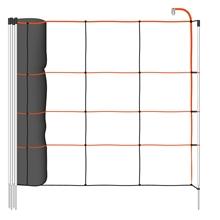 B-Ware: VOSS.farming TitanLight Net 50m Schafnetz, Elektrozaun-Netz, 90cm, 14 Pfähle, 1 Spitze