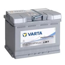 VARTA PROFESSIONAL Versorgungsbatterie, AGM Akku 12V/ 60Ah