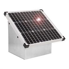 VOSS.farming Set: 35W Solarsystem für 12V Weidezaungerät + Tragebox