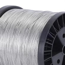 Drahtlitze verzinkt 1000m 1,5 mm Draht Litze für Weidezaun