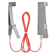 Clip Band-Verbindungskabel, 60cm, NIRO-EDELSTAHL